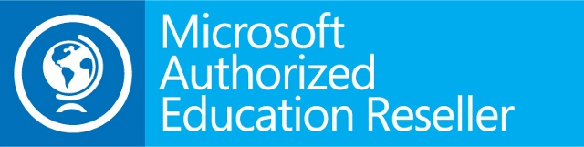 Microsoft authorised education reseller logo