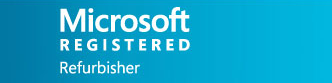 Microsoft refurbisher logo